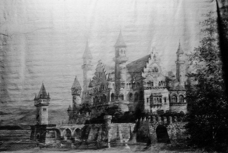 """Originalprospekt zur Märchenoper """"Das Zauberschloss"""" mit der Musik von Karl Detsch. Zusammen mit dem Gemischten Chor und der Theatergesellschaft wurde dieses Werk an der Fasnacht 1900 mit grossen Erfolg sieben Mal aufgeführt."""