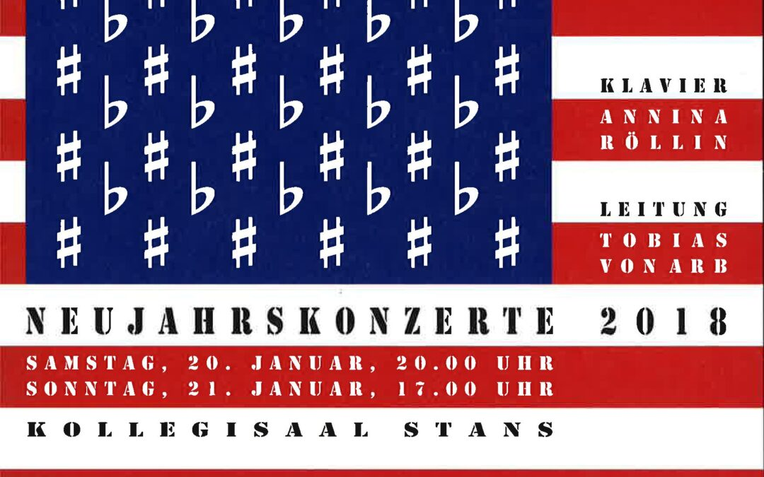 Neujahrskonzert 2018 – Stars and Stripes